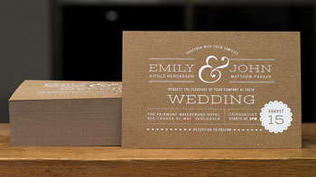 Custom Wedding Invitations - Toronto Print Press
